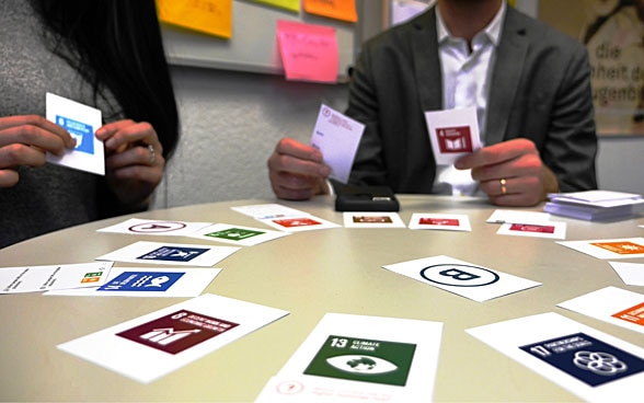 Gioco di carte «Sustainable Developement Geek».