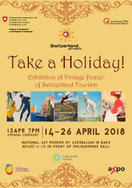 Exhibition of Vintage Poster in Baku