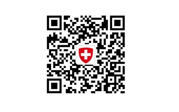 search SwissChat on WeChat