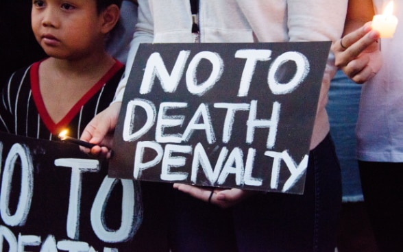 Bild No to Death penalty