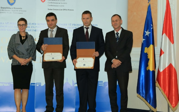 Awards ceremony to best performing municipalities