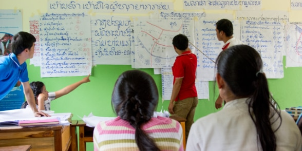Participatory village planning in Luang Prabang, Lao PDR.