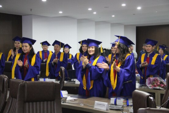 First graduates of career studies