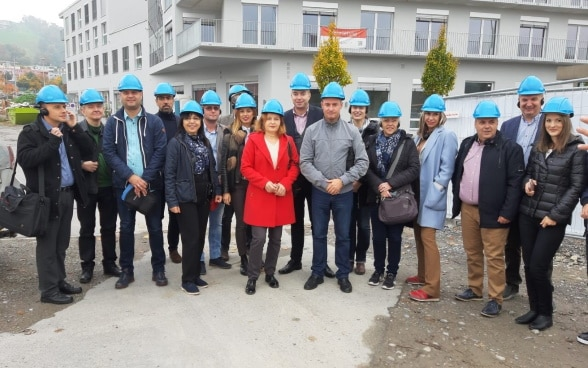Serbian representatives on a study visit to Switzerland