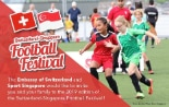 Switzerland-Singapore Football Festival on 5 October 2019 at the NS Square