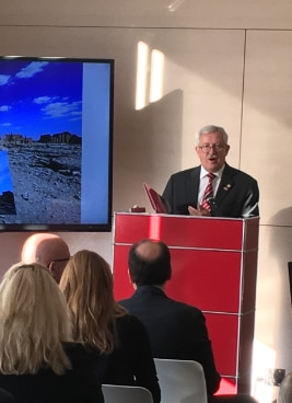 Ambassador Martin Dahinden during his opening remarks