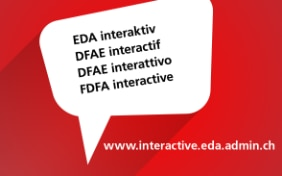 "Symbolic image: linking to the blog ""FDFA interactive"""