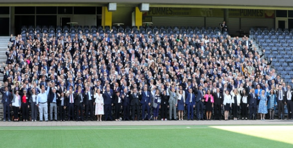 Group picture of the participants of the Ambassadors and International Network Conference.