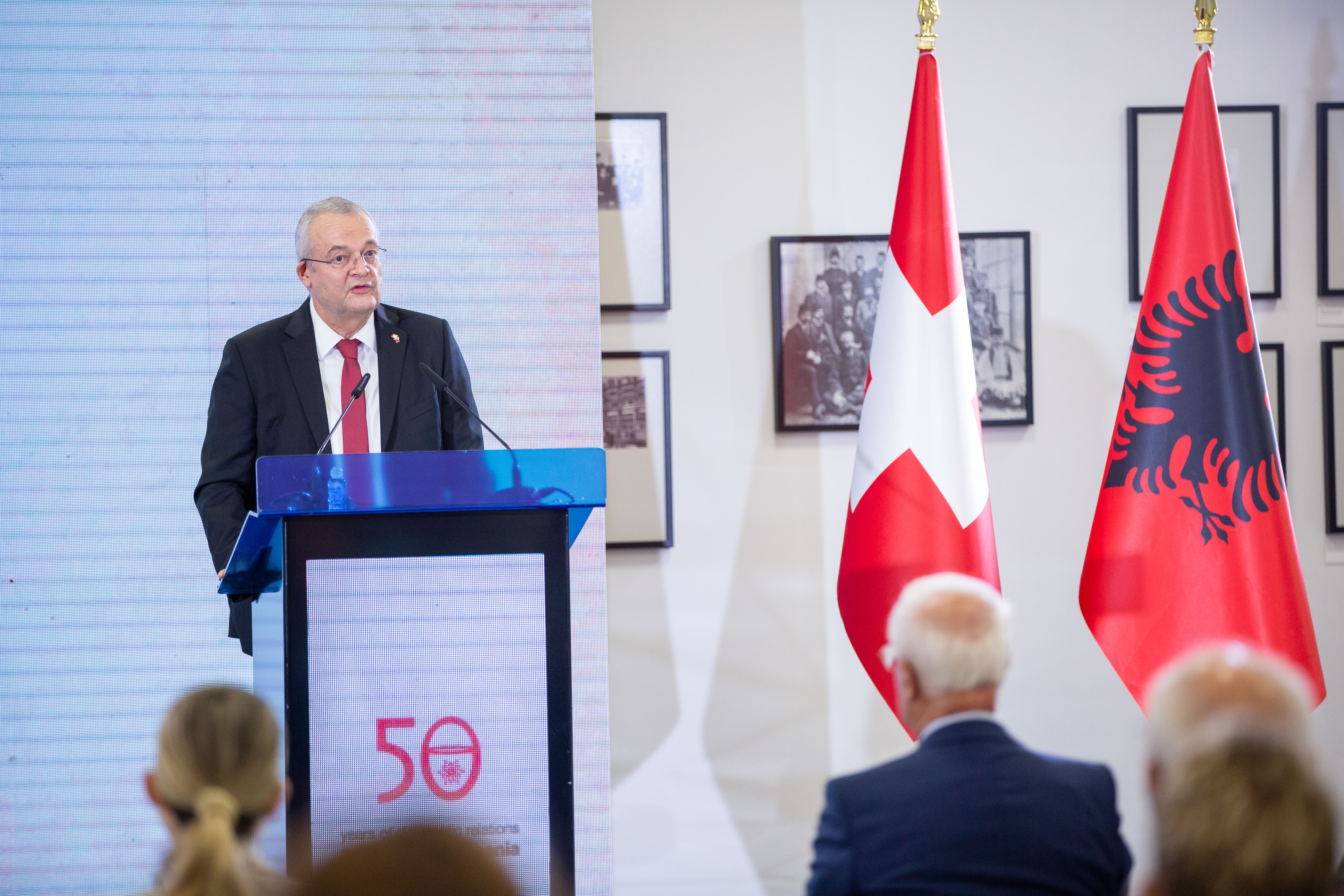 On September 29th, 2020, a key event celebrated 50 years of Swiss-Albanian official relations.