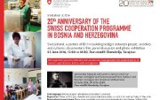Invitation to the 20th Anniversary of Swiss Cooperation in BiH_Flyer1