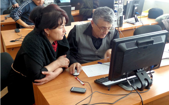 "RESPII - Training courses for accountants of WCAs in Tashkent province, conducted in Tashkent Institute of Irrigation and Melioration within the ""Rural Enterprise Support Project II"""