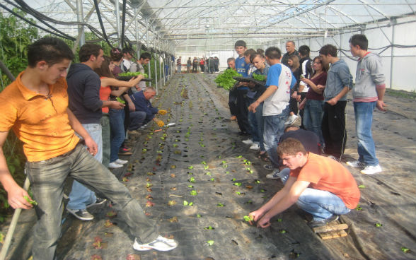 Ecole d'agriculture Pristina, projet « Vocational Education Support Project » 2011